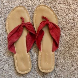 Red Rebels Sandals